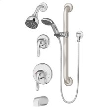 Symmons Origins® Tub/Shower/Hand Shower System - Polished Chrome