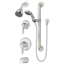 Symmons Origins® Tub/Shower/Hand Shower System - Polished Chrome