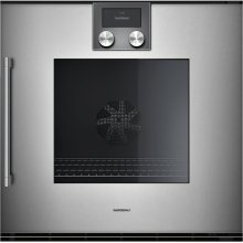 "200 series 200 series single oven Full glass door in Gaggenau Metallic Width 24"" (60 cm) Right-hinged"