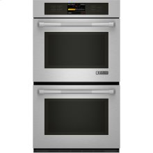 "Double Wall Oven with V2™ Vertical Dual-Fan Convection System, 30"", Pro-Style® Stainless Handle"