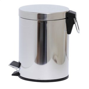 Essentials Freestanding Round Pedal Bin, 5 Litre Product Image