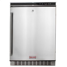 """Blaze Outdoor Rated Stainless 24"""" Refrigerator 5.5 CU"""