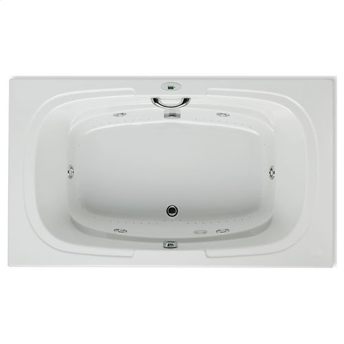 "Easy-Clean High Gloss Acrylic Surface, Rectangular, Whirlpool Bathtub, Premiere Package, 42"" X 72"""