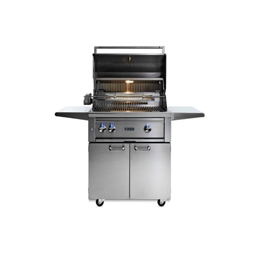 "30"" Lynx Professional All Trident Freestanding Grill Rotisserie, NG"