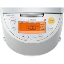 Induction Heating Rice Cooker / Warmer in Beige / Stainless - 5.5 CUPS