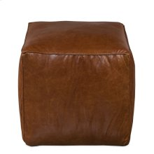Leather Sitting Cube