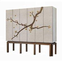 Cherry Blossom Cabinet - Oak