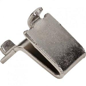 Nickel Single-Track Shelf Clip Bulk Pack (2,500 pcs.) Product Image