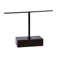 "6"" 1 Tier/2 Arm T-Bar Counter Display"