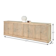Eight Is Enough Sideboard, Lt Blue