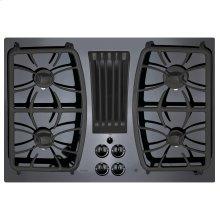 "GE Profile™ 30"" Built-In Gas Downdraft Cooktop"
