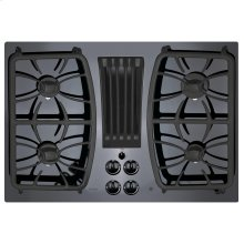 "GE Profile™ 30"" Built-In Gas Downdraft Cooktop"