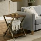 Ryder - Chairside Table - Rustic Clove Finish Product Image