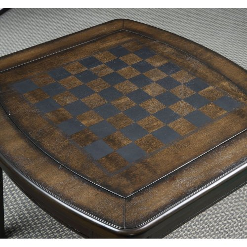 "Diletta Game End Table 24""x24""x24"""