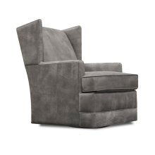 Leather Olive Swivel Chair 47069AL
