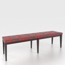 Upholstered seat bench