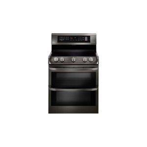 7.3 cu. ft. Electric Double Oven Range with ProBake Convection®, EasyClean® and Infrared Heating System Product Image