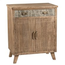 Lavelle 2 Door Cabinet - Rough Sewn Oak