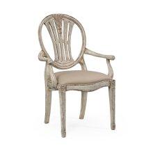 Hepplewhite Wheatsheaf armchair (Grey)
