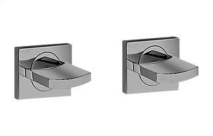 Sade/Targa/Luna Tub Handle Set - Wall-Mounted Product Image
