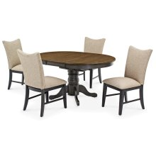 Concentric Back Chair (black)