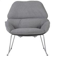 Finn Accent Chair in Dark Grey