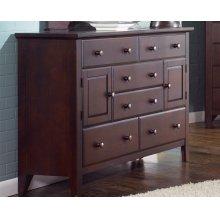 Dresser 6 Drawer & 2 Doors