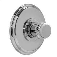 """3/4"""" Thermostatic Shower Set - Deluxe Plate with Seville Handle"""