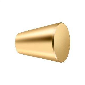 """Knob Cone Cabinet 1 1/8"""" - PVD Polished Brass Product Image"""
