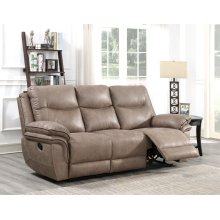 STEVE SILVER IS850SS Isabella Sand Reclining Sofa
