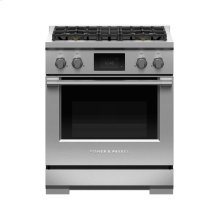 "Dual Fuel Range, 30"", 4 Burners"