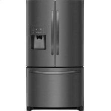 Bottom Mount Refrigerator - Black Stainless