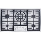 KM 2355 LP Gas cooktop in maximum width for the best possible cooking and user convenience. Product Image