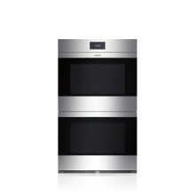"""30"""" M Series Contemporary Stainless Steel Built-In Double Oven"""