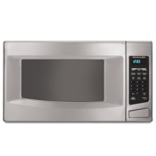 1.5 Cu. Ft. Capacity 1,200 Watts Countertop Microwave(White)