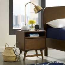 Talwyn Wood Nightstand in Chestnut