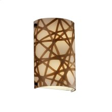Finials Cylinder Wall Sconce (ADA)