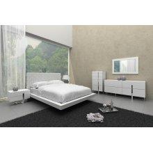 Modrest Voco Modern White Bedroom Set