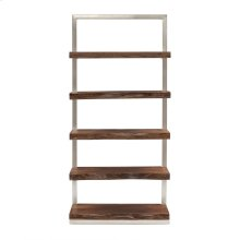 Ladder Shelf In Silver
