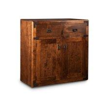 Saratoga Sideboard w/2 Wood Doors & 2/Dwrs & 1/Wood Adjust.