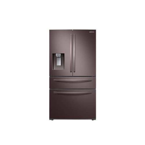 28 cu. ft. 4-Door French Door Refrigerator with Food Showcase in Tuscan Stainless Steel