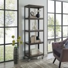 Vivify Bookcase in Gray Walnut Product Image