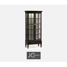 Tall Dark Ale Plank Glazed Display Cabinet