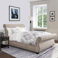 Claire Khaki King Bed 6/6