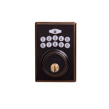 Contemporary Electronic Keypad Deadbolt - Grade 3