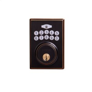 Contemporary Electronic Keypad Deadbolt - Grade 3 Product Image
