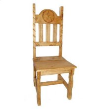 Wood Seat Rope Star Chair