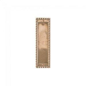 Corbel Rectangular Flush Pull - FP30700 Silicon Bronze Brushed Product Image