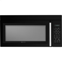 """30"""" Over-the-Range Microwave Oven with Convection, Black Floating Glass w/Handle"""