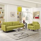 Empress Armchair and Sofa Set of 2 in Wheatgrass Product Image